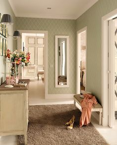 The decoration of the corridors is often not taken into account at home, since the attention is usually focused on […] House Colors, Apartment Interior, Home Decor Inspiration, Interior Design, Cottage Interiors, Home, Interior, Home Deco, Home Decor