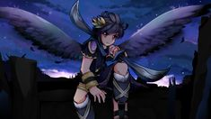 Kid Icarus Uprising, Video Game Art, Best Games, Angles, I Am Awesome, Fanart, Tumblr, Characters, Dark
