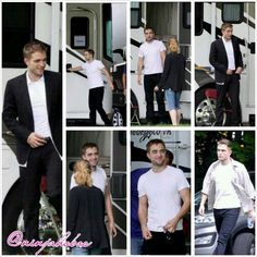 """Rob on the set of """"Maps to the Stars"""" today. July 22, 2013"""