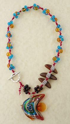 Colar de ERIN SIEGEL no BSBP de 2011 - Erin Siegel Jewelry: Bead Soup Reveal!