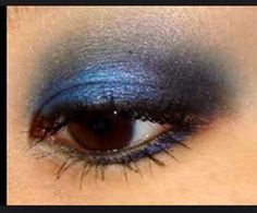 I like this look and think it would be a great evening eye make up look for at night