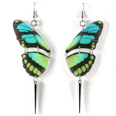 My design inspiration: Butterfly Earrings Blue on Fab.