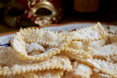 Frappe or Cioffe: Italian Bow Tie Cookies - Christina's Cucina Italian Bow Tie Cookies Recipe, Italian Anise Cookies, Italian Cookie Recipes, Italian Desserts, Biscuits, Italian Pastries, Croatian Recipes, Fancy Cookies, Sweet Recipes