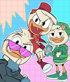 "sharkgill: ""so excited for season "" Disney Cartoon Movies, Cartoon Games, Disney Cartoons, Disney Characters, Poke The Bear, Anime Friendship, Disney Ducktales, Duck Tales, Disney Crossovers"