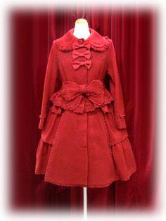 Baby the Stars Shine Bright Charlotte Coat (red)