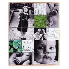 'I Love Daddy' Photo Cube - great Father's Day present!