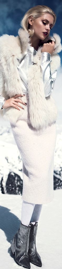 Martina Dimitrova Stuns in the Snow for DV Mode by Fredrik Wannerstedt - fashiongonerogue - ShazB