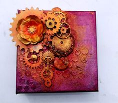 Artsy Lynn: Altered Canvases
