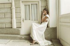"""Vestido Sonia """"Memories of Madrid"""" Campaña nueva colección de vestidos de novia Beba's Closet www.bebascloset.com Foto @pipi_hormaechea Peluquería y maquillaje @reginacapdevila Joyas @beatrizpalacios_jewelry"""