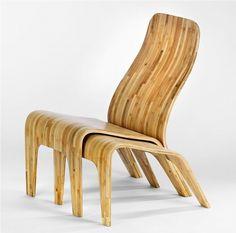 bamboo designer furniture | Found on mypapasan.com