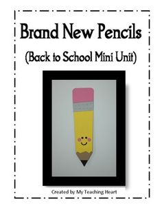 This back to school unit is based around the book Brand New Pencils, Brand New Books. It includes:* Pencil Craft (has templates, instructions and...
