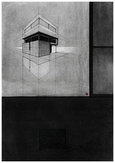 NON-Site, Architectural Drawings Exhibitionn at Indus Valley School of Art and Architecture. 15th April - 2015