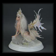 CBC STUDIO Candace Taylor Arctic Queen Mermaid OOAK fantasy art doll