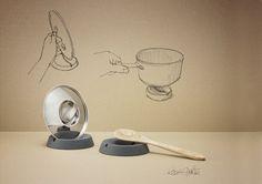 scandinavian design RigTig by Stelton trivet tableware