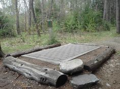 "Tee Pad- ""Pitch"" = Water Drainage"