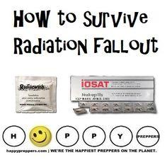WELCOME NEW PREPPERS: If it were a real nuclear attack and you survived the radiation blast, would you know how to survive the RADIATION FALLOUT? http://happypreppers.com/radiation.html