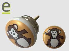 Pomelli con scimmietta....  descrizione e prezzi alla pagina http://easy-online.it/it/shop/camerette/pomelli-per-camerette-kid-20/