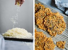 Asiago Seed and Cheese Crisps Seed Crackers Recipe, Appetizer Recipes, Appetizers, Cheese Crisps, Seeds, Low Carb, Cooking Recipes, Vegetarian, Pumpkin