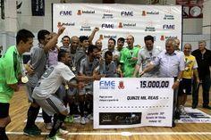 Vitória sobre o Loes/HLS por 5 a 4 garante primeiro título à equipe blumenauense no tradicional certame de Indaial