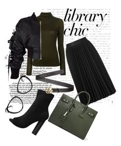 Library chic by ralu-florea on Polyvore featuring polyvore, fashion, style, Plein Sud, storets, Astraet, Yves Saint Laurent, Gucci, Prada and clothing