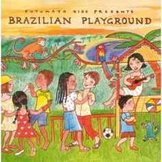 Introduce your kids to a new language with memorable songs from this great CD.  (In Portuguese)