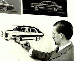 "tomhankssucks:  "" Paul Bracq, head of Mercedes design 1957-1967  """