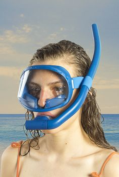 Snorkel Mask, Scuba Girl, Snorkelling, Oakley Sunglasses, Diving, Stuff To Buy, Free, Women, Snorkeling