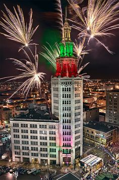 First Night Downtown Buffalo, NY. by Brons Photography