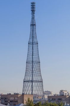 Tadao Ando, Elizabeth Diller, Rem Koolhaas, Kengo Kuma, Thom Mayne have signed a petition to halt demolition of Moscow's iconic Shukhov Radio Tower. Beautiful Architecture, Art And Architecture, Architecture Details, Underwater Hotel, Shell Structure, I Love House, High Rise Building, Interesting Buildings, Tours