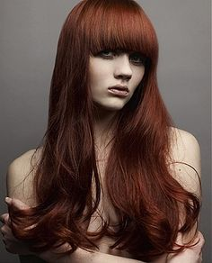 Beautiful Mahogany Hair!