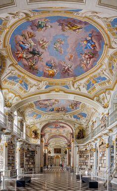 Admont Abbey Library, Admon, Austria. 1776