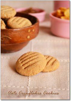 Eggless Biscotti Recipe, Oat Biscuit Recipe, Eggless Biscuits, Oat Cookie Recipe, Oat Cookies, Best Cookie Recipes, No Bake Cookies, Sweet Recipes, Snack Recipes