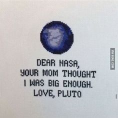 Pluto gettin all sassy