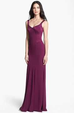 David Meister Mermaid Gown available at #Nordstrom