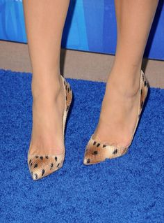 Actress Blake Lively (shoe detail) arrives at the 2011 Teen Choice Awards held at the Gibson Amphitheatre on August 7, 2011 in Universal City, California.