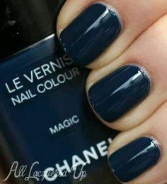 "Chanel ""magic"" blue"