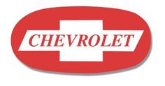 Chevrolet bowtie logo, as it appeared in 1957-1959 print advertising.