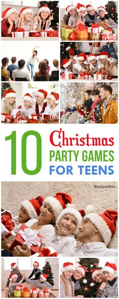 Top 15 Christmas Games And Activities For Teens Here are the fun party games for teens that you can add to the festive celebs. They give an opportunity to interact with others & thus add to their glorious spirit. Fun Christmas Party Games, Xmas Games, Fun Party Games, Holiday Games, Xmas Party, Christmas Activities, Kids Christmas, Holiday Parties, Holiday Fun