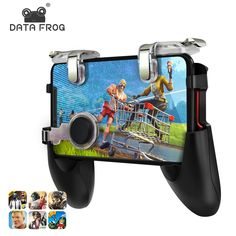 Data Frog For Pubg Game Gamepad For Mobile Phone Game Controller Shooter Trigger Fire Button For IPhone For Free Fire - Sahumart Buy Mobile, Mobile Game, Intelligent Design, Ios, Smartphone, Smartwatch, Android, Xbox 360, Playstation