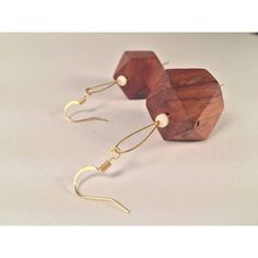 A personal favorite from my Etsy shop https://www.etsy.com/ca/listing/562374088/geometric-wooden-earrings-with-small