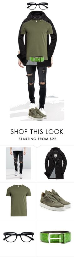 1 by lpolenskiy on Polyvore featuring Sørensen, Liquor n Poker, Superdry, Filling Pieces, D'Amico, men's fashion and menswear
