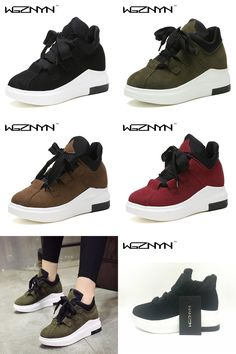 [Visit to Buy] WGZNYN 2017 Fashion Women Platform Casual Shoes Ladies Girls Swing Shoes Breathable Zapatillas Mujer Chaussures Femme #Advertisement