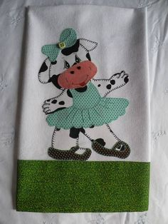 Trabalhos em pathcolagem confeccionados com tecidos 100% algodão