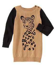 7fda3d17ef2 Gymboree Right Meow Long Sweater Dress