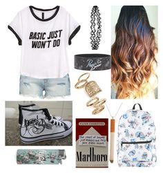 """""""Nicotine"""" by fashionablehottie25 on Polyvore featuring BLANKNYC, H&M, Accessorize, Topshop and Disney"""