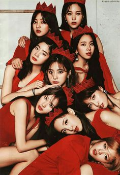 Red Velvet Peek a boo Twice version edited from real photoshoot picture- Mina Jihyo Chaeyoung Dahyun Tzuyu Momo Sana Nayeon Jeongyeon Twice Nayeon, Kpop Girl Groups, Korean Girl Groups, Kpop Girls, K Pop, Kpop Wallpaper, Got7, Twice Photoshoot, Twice Group