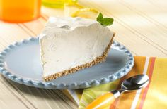 cool-and-simple-citrus-pie...frozen lemonade, ice cream and cool whip! Easy!! My kind of pie!