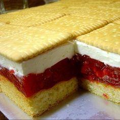 Süße Rezepte: Himbeer-Sahne-Kuchen