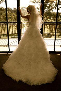big dress doorway shot Big Dresses, Wedding Dresses, Doorway, Mermaid Wedding, Fashion, Bride Gowns, Entryway, Wedding Gowns, Moda