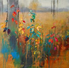 Autumn Brights. Mixed media. Anna Perlin